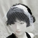 Birdcage Wedding Headpiece ;Crystal Rhinestone Applique Bridal Tiara ;Wedding Veil headband#r2