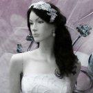 Floral Lace Wedding Headpiece;Ivory Floral Bridal Tiara ; Bride Headpiece#8