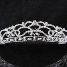 Bridal Tiara;Silver Rhinestone Wedding Headband;Bride Headpiece;bride Hair accessories #4121