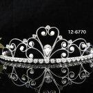 Bridal Tiara;Silver Rhinestone Wedding Headband;Fancy Headpiece;bride Jewelry Hair accessories #6770