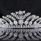 Bridal Tiara;Silver Rhinestone Bride Wedding Headpiece ;Fancy Headpiece;bride Hair accessories#783
