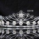 Bridal Tiara;Silver Pearl Rhinestone Wedding Headpiece ;Fancy Headpiece;bride Hair accessories#5119