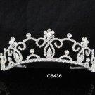 Bridal Tiara;Silver Pearl Rhinestone Wedding Headpiece ;Fancy Headpiece;bride Hair accessories#6436