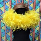 50g Feather Fringe Shawl;Coque Rooster fluffy scarves stole;Marabou feather boa wrap#9