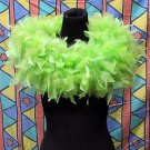 50g Feather Fringe Shawl;Coque Rooster fluffy scarves stole;Marabou feather boa wrap#10