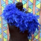 50g Feather Fringe Shawl;Coque Rooster fluffy scarves stole;Marabou feather boa wrap#11