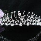 Bride Hair accessories ;Elegance Bridal Tiara;Silver Crystal Rhinestone Wedding Headband#1370
