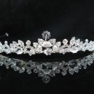 Bride Hair accessories ;Elegance Bridal Tiara;Silver Crystal Rhinestone Wedding Headband#1401