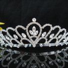 Bride Hair accessories ;Elegance Bridal Tiara;Silver Crystal Rhinestone Wedding Headband#1403