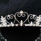 Bride Hair accessories ;Elegance Bridal Tiara;Sweetheart Silver Rhinestone Wedding Headband#369