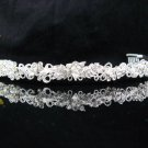 Bride Hair accessories ;Elegance Bridal Tiara;Silver Rhinestone Butterfly Wedding Headband#696s