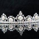 Bride Hair accessories ;Elegance Bridal Tiara;Fancy Silver Pearl Floral Wedding Headband#5098