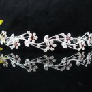 Bride Hair accessories ;Elegance Bridal Tiara;Fancy Silver Rhinestone Floral Wedding Headband#5305