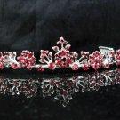 Bride Hair accessories ;Elegance Bridal Tiara;Fancy Silver Rhinestone Floral Wedding Headband#584R