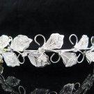 Fancy Vine Bride Hair accessories;Bridal Tiara;Silver Rhinestone Floral Wedding Headband#1609s
