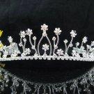 Fancy Daisy Bride Hair accessories;Bridal Tiara;Silver Rhinestone Floral Wedding Headband#531