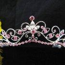 Fancy Bride Hair accessories;Filigree Bridal Tiara;Silver Rhinestone Wedding Headband#11DP