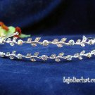 Silver Rhinestone Twin Vine Alloy Wedding Headband;Bride Hair accessories;Fancy Bridal Tiara#534ab