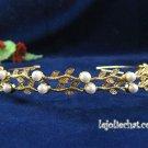 Silver Rhinestone Twin Vine Alloy Wedding Headband;Bride Hair accessories;Fancy Bridal Tiara#533g