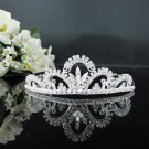 Rhinestone Wedding Tiara;Bride Hair accessories;Fancy Crystal Golden Bridal Tiara#528