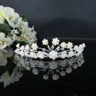 Rhinestone Wedding Tiara;Fancy Silver Crystal Bridal Tiara;Bride Hair accessories#1316