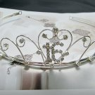 15 or 16 Birthday Tiara;Silver Sweetheart Crystal Occasion Tiara;Fashion Hair accessories#1561