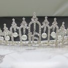15 or 16 Birthday Tiara;Silver Sweetheart Crystal Occasion Tiara;Fashion Hair accessories#6185