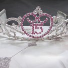 15 or 16 Birthday Tiara;Silver Sweetheart Crystal Occasion Tiara;Fashion Hair accessories#6944pu