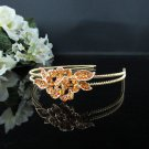 Elegance Bridesmaid Tiara;Occasion Crystal Floral Headband ;Fancy Fashion Hair accessories1132g