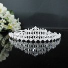 Gorgeous Bridesmaid Tiara;Crystal Bugle Bride headpiece ;Fancy Fashion Hair accessories #9304