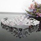 Bridesmaid Tiara;Occasion Crystal Silver Bride Headband ;Fancy Fashion Hair accessories #86