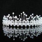 Bridesmaid Tiara;Occasion Crystal Silver Bride Headpiece ;Fancy Fashion Hair accessories #171