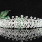 Bridesmaid Tiara;Occasion Crystal Silver Bride Headpiece ;Fancy Fashion Hair accessories #1847