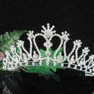 Bridesmaid Tiara;Occasion Crystal Silver Bride Headpiece ;Fancy Fashion Hair accessories #1828