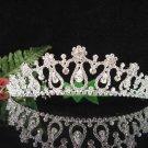 Bridesmaid Tiara;Occasion Crystal Silver Bride Headpiece ;Fancy Fashion Hair accessories #1860