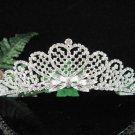 Bridesmaid Tiara;Occasion Crystal Silver Bride Headpiece ;Fancy Fashion Hair accessories #1861