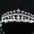 Bridesmaid Tiara;Occasion Crystal Silver Bride Headpiece;Fancy Fashion Hair accessories #966