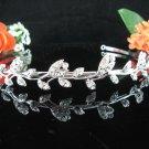 Bridesmaid Tiara;Occasion Crystal Silver Bride Headband ;Fancy Fashion Hair accessories #137s