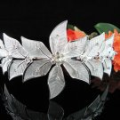Bridesmaid Tiara;Occasion Crystal Silver Bride Headband ;Fancy Fashion Hair accessories #2059