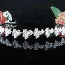 Bridesmaid Tiara;Occasion Crystal Silver Bride Headband ;Fancy Fashion Hair accessories #60