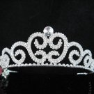 Crystal Silver Bride Headpiece ;Bridesmaid Tiara;Bridal Veil ;Fancy Fashion Hair accessories #SJ26