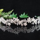 Bridal Veil ;Crystal Silver Bride Headband ;Bridesmaid Tiara;Fancy Fashion Hair accessories #1781