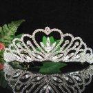 Bridal Veil ;Crystal Silver Bride Headband ;Bridesmaid Tiara;Fancy Fashion Hair accessories #1808