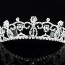 Opera Hair accessories ;Bridal Veil ;Crystal Silver Bride Headpiece;Bridesmaid Tiara#9034