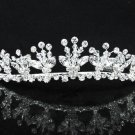 Opera Hair accessories ;Bridal Veil ;Crystal Silver Bride Headpiece;Bridesmaid Tiara#9051