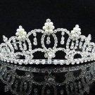 Opera Hair accessories ;Bridal Veil ;Crystal Silver Bride Headpiece;Bridesmaid Tiara#9072