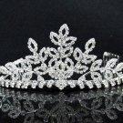 Opera Hair accessories ;Bridal Veil ;Crystal Silver Bride Headpiece;Bridesmaid Tiara#c012