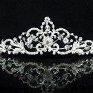 Opera Hair accessories ;Bridal Veil ;Crystal Silver Bride Headpiece;Bridesmaid Tiara#1042