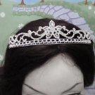 Opera Hair accessories ;Bridal Veil ;Crystal Silver Bride Headpiece;Bridesmaid Tiara#3050