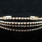 Opera Hair accessories ;Bridesmaid Tiara;Bridal Veil ;Golden Twin Bride Headband#826g